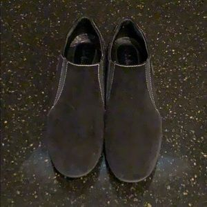 Cole Haan Shoes - Cole Haan Black Suede Slip On Loafers.  Size 8B